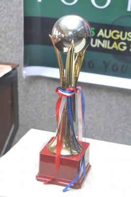 Her trophy