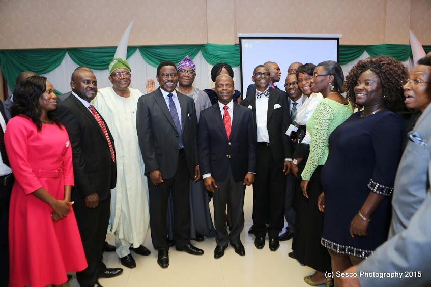 Pictures from the Dinner held in honour of the Vice President, Prof. Yemi  Osinbajo – The Law Students' Blog.