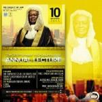 Get Familiar: Prof. A.B. Kasumu AnnualLecture