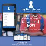 MyStudyFocus : Award Winning InnovativeApp